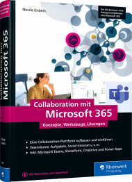 Collaboration mit Microsoft 365, ISBN: 978-3-8362-7967-3, Best.Nr. RW-7967, erschienen 08/2020, € 49,90