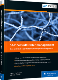 SAP-Schnittstellenmanagement, ISBN: 978-3-8362-7982-6, Best.Nr. RW-7982, € 79,90
