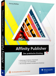 Affinity Publisher, ISBN: 978-3-8362-8009-9, Best.Nr. RW-8009, erschienen 10/2020, € 29,90