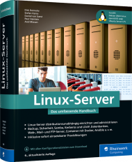 Linux-Server, ISBN: 978-3-8362-8088-4, Best.Nr. RW-8088, erschienen 04/2021, € 59,90