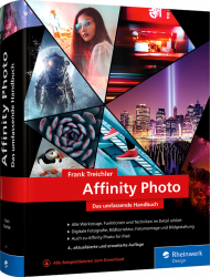 Affinity Photo, ISBN: 978-3-8362-8397-7, Best.Nr. RW-8397, erschienen 04/2021, € 49,90