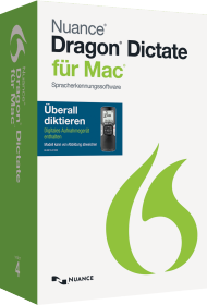 Dragon Dictate 4.0 Mobile f�r Mac, Best.Nr. SC-0224, € 209,95