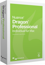 Dragon Professional Individual für Mac 6 (Download), Best.Nr. SCO063, erschienen 02/2017, € 289,00