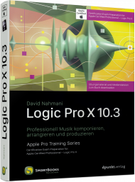 Logic Pro X 10.3, ISBN: 978-3-86490-535-3, Best.Nr. SM-535, erschienen 01/2018, € 24,90