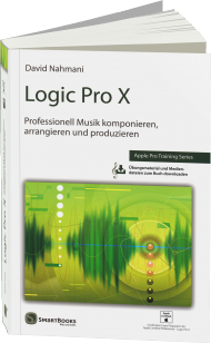 Logic Pro X, ISBN: 978-3-944165-11-0, Best.Nr. SM-6511, erschienen 09/2014, € 39,90