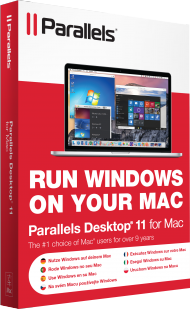 Parallels Desktop 11 f�r Mac, Best.Nr. SO-2628, € 67,95