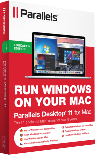 Parallels Desktop 11 f�r Mac Education, Best.Nr. SO-2629, € 37,95