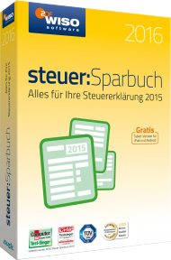 WISO Steuer-Sparbuch 2016, Best.Nr. SO-2643, € 29,95