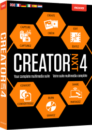 Roxio Creator NXT 4 (Download), Best.Nr. SO-2647, € 59,95