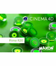 Maxon CINEMA 4D Prime R20 - Upgrade von R19, Best.Nr. SO-2650, erschienen 09/2018, € 299,00