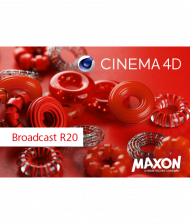 Maxon CINEMA 4D Broadcast R20 - Upgrade von R19, Best.Nr. SO-2653, erschienen 09/2018, € 509,00
