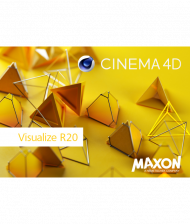 Maxon CINEMA 4D Visualize R20 - Upgrade von R18, Best.Nr. SO-2657, erschienen 09/2018, € 899,00