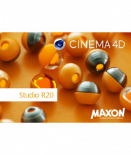 Maxon CINEMA 4D Studio R20 - Upgrade von R19, Best.Nr. SO-2659, erschienen 09/2018, € 849,00