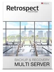 Retrospect 13 für Mac Multi Server, unbegr. Clients (Download), Best.Nr. SO-2683, € 1.799,00