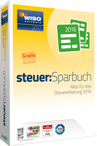 WISO steuer:Sparbuch 2017, Best.Nr. SO-2690, € 27,95