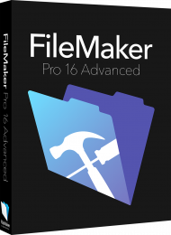 FileMaker Pro 16 Advanced Upgrade von Version 16, 15, 14, Best.Nr. SO-2711, € 359,00
