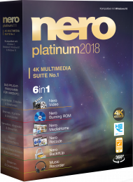 Nero Platinum 2018 Suite, EAN: 4052272002134, Best.Nr. SO-2731, erschienen 11/2017, € 73,95