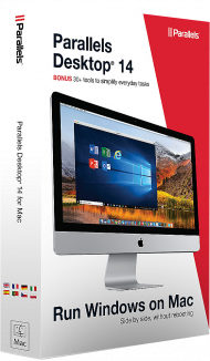 Parallels Desktop 14 für Mac Education Edition, EAN: 0846829006751, Best.Nr. SO-2741, erschienen 09/2018, € 49,95