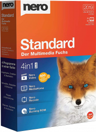 Nero Standard 2019 Suite, EAN: 4052272002301, Best.Nr. SO-2744, erschienen 10/2018, € 57,40