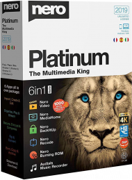 Nero Platinum 2019 Suite, EAN: 4052272002356, Best.Nr. SO-2745, erschienen 10/2018, € 78,60