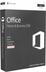 MS Office Home and Business 2016 für Mac - Key Card, EAN: 0885370935868, Best.Nr. SO-3170, erschienen 09/2015, € 229,00