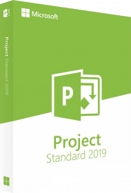 Microsoft Project 2019 Standard - Key Card, EAN: 0889842337396, Best.Nr. SO-3177, erschienen 10/2018, € 764,00