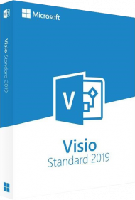 Microsoft Visio 2019 Standard - Key Card, EAN: 0889842336009, Best.Nr. SO-3179, erschienen 10/2018, € 399,00