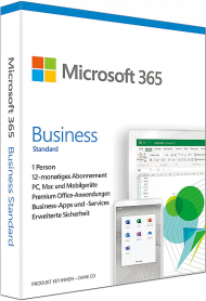 MS Office 365 Business Premium für Windows und Mac - Key Card, EAN: 0889842380958, Best.Nr. SO-3181, erschienen 10/2018, € 129,99