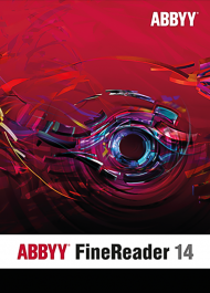 ABBYY FineReader 14 Standard Edition - Upgrade (Download), Best.Nr. SOO2699, erschienen 01/2017, € 99,95