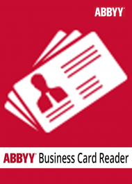 ABBYY Business Card Reader 2.0 für Windows (Download), Best.Nr. SOO2704, € 21,95