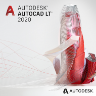 AutoCAD LT 2020 Jahresabo (Download), Best.Nr. SOO2750, erschienen 05/2019, € 489,00