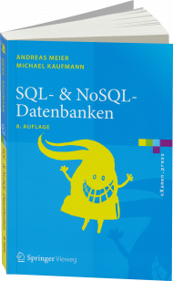 SQL- & NoSQL-Datenbanken, ISBN: 978-3-662-47663-5, Best.Nr. SP-47663, erschienen 09/2016, € 19,95