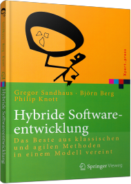 Hybride Softwareentwicklung, ISBN: 978-3-642-55063-8, Best.Nr. SP-55063, erschienen 12/2014, € 19,95