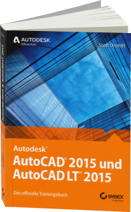 AutoCAD 2015 und AutoCAD LT 2015 - Official Training Guide, Best.Nr. SY-76056, € 49,99