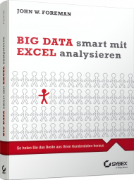 Big Data smart mit Excel analysieren, ISBN: 978-3-527-76060-2, Best.Nr. SY-76060, erschienen 04/2015, € 34,99