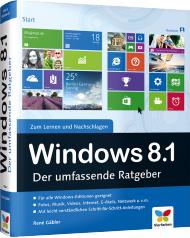 Windows 8.1 - Der umfassende Ratgeber, Best.Nr. VF-0124, € 39,90