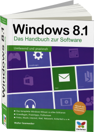 Windows 8.1 - Das Handbuch zur Software, Best.Nr. VF-0141, € 19,90