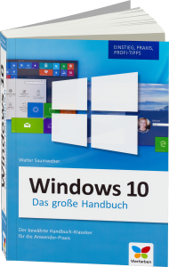 Windows 10 - Das gro�e Handbuch, Best.Nr. VF-0162, € 19,90