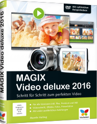 MAGIX Video deluxe 2016 - Schritt f�r Schritt zum perfekten Video, Best.Nr. VF-0177, € 29,90