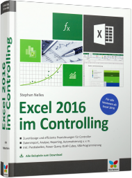 Excel 2016 im Controlling, Best.Nr. VF-0195, € 39,90
