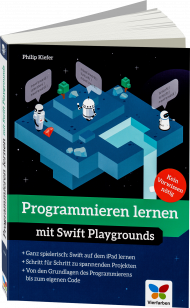 Programmieren lernen mit Swift Playgrounds, Best.Nr. VF-0308, € 24,90