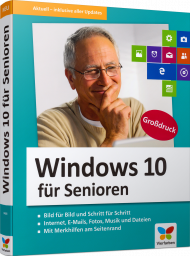 Windows 10 für Senioren, ISBN: 978-3-8421-0468-6, Best.Nr. VF-0468, erschienen 06/2018, € 19,90