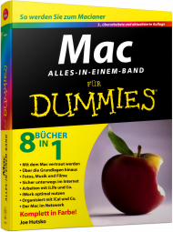 Mac f�r Dummies - Alles-in-einem-Band, Best.Nr. WL-70822, € 36,95