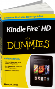 Kindle Fire HD f�r Dummies, Best.Nr. WL-70948, € 10,00