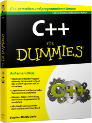C++ f�r Dummies, Best.Nr. WL-71098, € 19,99