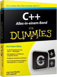 C++ f�r Dummies - Alles-in-einem-Band, Best.Nr. WL-71170, € 29,99