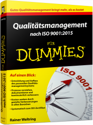 Qualit�tsmanagement nach ISO 9001:2015 f�r Dummies, Best.Nr. WL-71224, € 34,99
