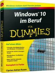 Windows 10 im Beruf f�r Dummies, Best.Nr. WL-71255, € 19,99