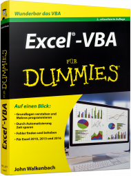 Excel-VBA f�r Dummies, Best.Nr. WL-71290, € 22,99