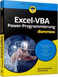 Excel-VBA Power-Programming f�r Dummies, Best.Nr. WL-71299, € 39,99
